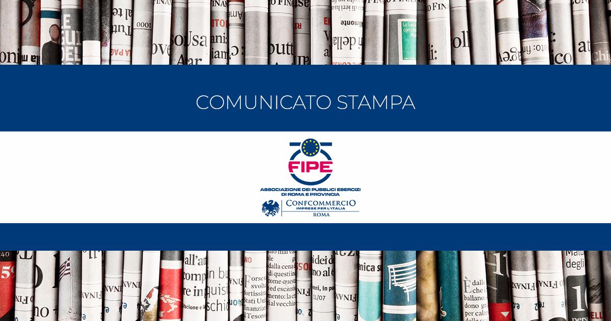 """FIPE ROMA: conferenza stampa """"I PUBBLICI ESERCIZI DOPO IL LOCKDOWN. I DATI TRA CRISI E RIPARTENZA"""""""