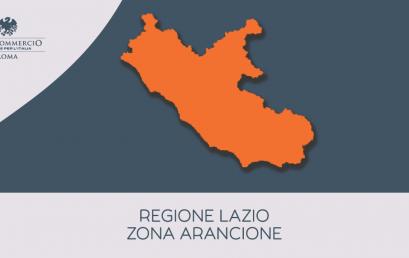 Il Lazio in zona arancione | Vi ricordiamo le principali disposizioni vigenti dal 6 aprile