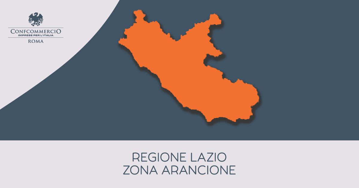 Il Lazio in zona arancione da martedì 30 marzo | Le principali disposizioni