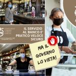 """FIPE CONFCOMMERCIO ROMA """"Divieto consumazione al banco nei bar: interpretazione giuridicamente incomprensibile e  immotivata sotto il profilo sanitario, intervenga il MISE"""""""