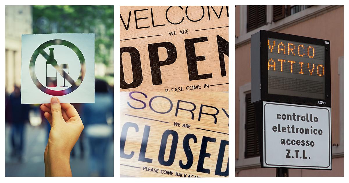 ROMA | Riattivate le ZTL. Prorogati al 30 aprile la disciplina oraria per le attività commerciali e il divieto di vendere alcolici e superalcolici, dalle 18 alle 7, presso esercizi di vicinato e distributori automatici
