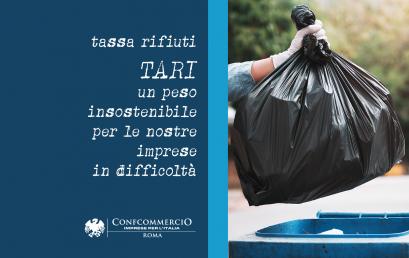 TASSA RIFIUTI: A ROMA COSTI IN CRESCITA NONOSTANTE ATTIVITÀ CHIUSE PER COVID-19 E RIDUZIONE DEI RIFIUTI PRODOTTI