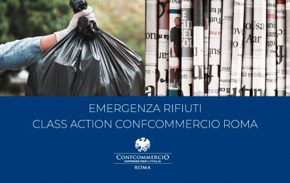 EMERGENZA RIFIUTI | CLASS ACTION CONFCOMMERCIO ROMA