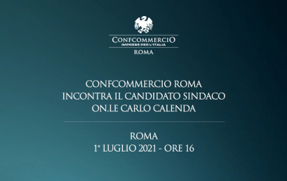 CONFRONTO TRA CONFCOMMERCIO ROMA E I CANDIDATI A SINDACO
