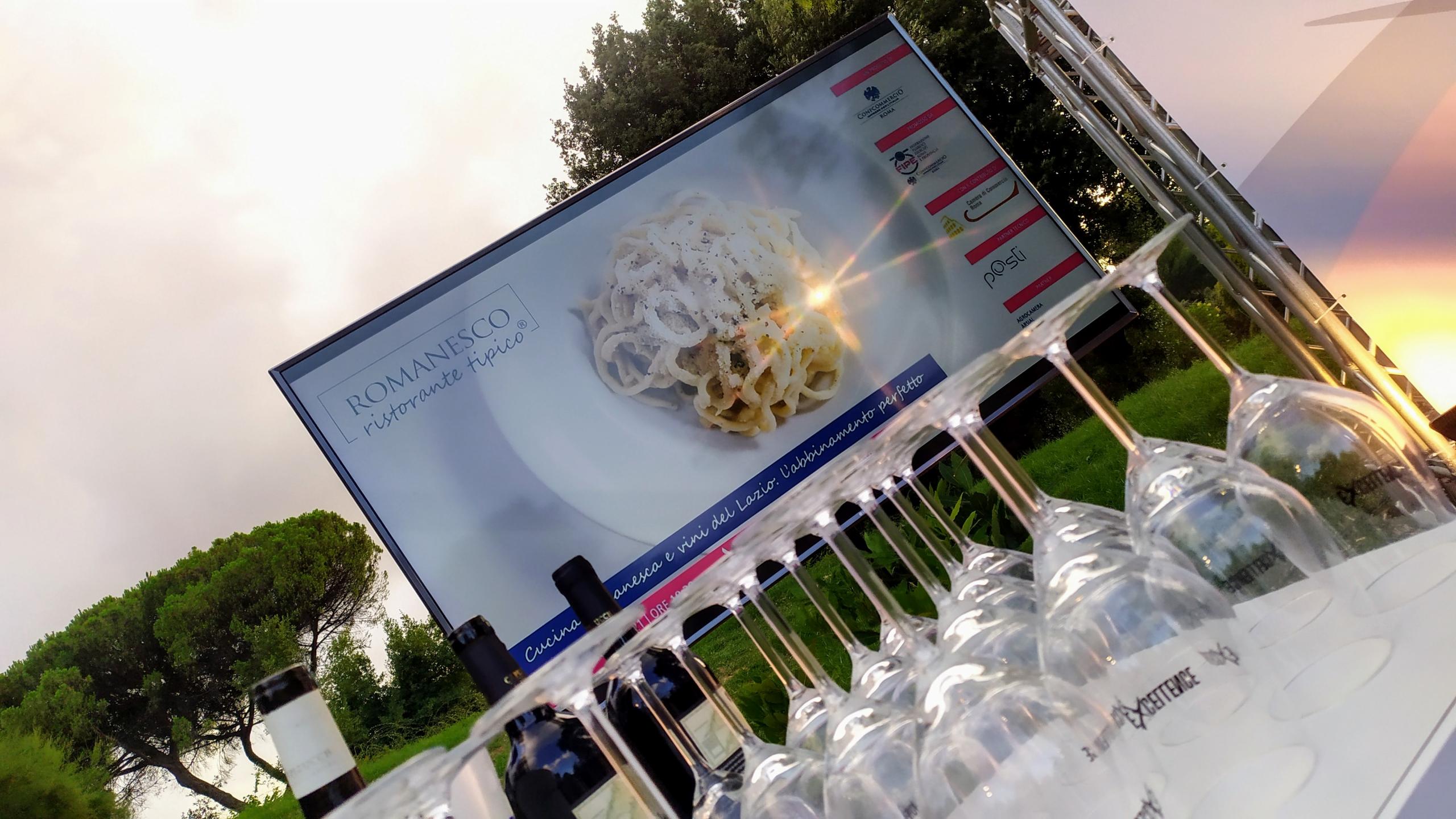 FIPE porta a VinoXRoma l'abbinamento perfetto tra cucina romanesca e vini del Lazio