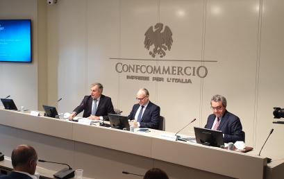 ROMA 2021, CONFCOMMERCIO INCONTRA GUALTIERI CANDIDATO SINDACO