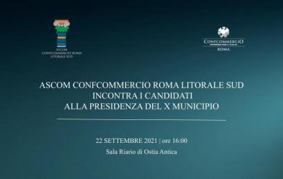 OSTIA | Ascom Confcommercio incontra i candidati Presidente al Municipio X