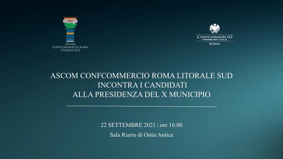 OSTIA   Ascom Confcommercio incontra i candidati Presidente al Municipio X