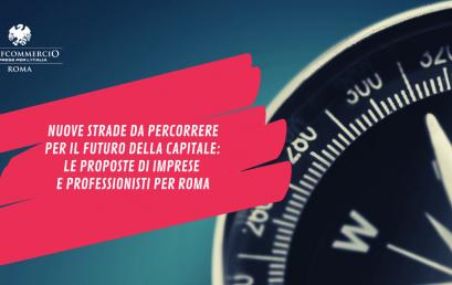 ROMA, AMMINISTRATIVE 2021 | Le proposte delle imprese e dei professionisti di Confcommercio Roma