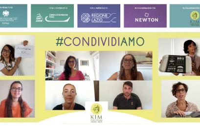 #CONDIVIDIAMO la prima esperienza di team building digitale nel mondo del volontariato aziendale